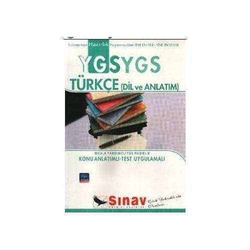 Sınav Ygs Türkçe Konu Anlatımlı