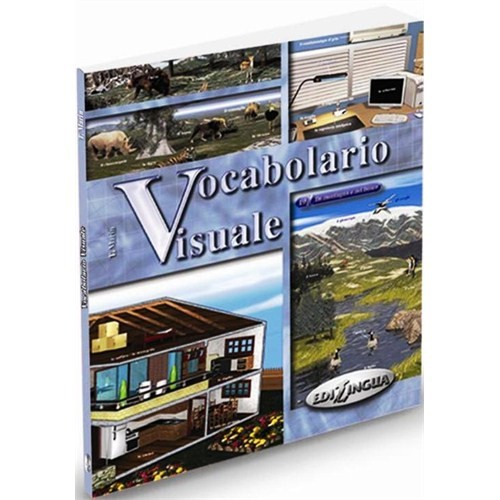 Vocabolario Visuale (İtalyanca 1000 Temel Kelime) - T. Marin