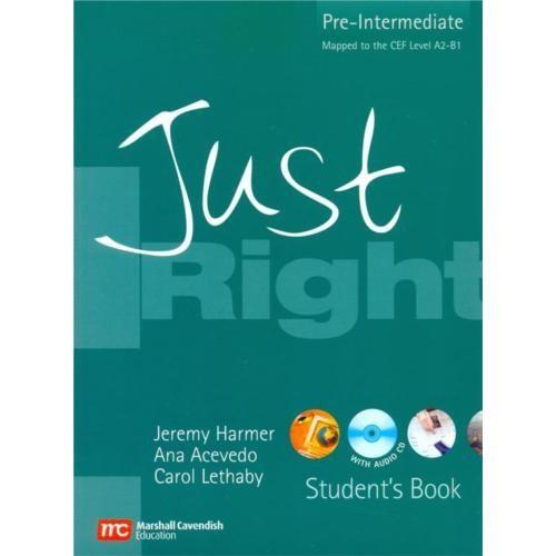 Just Right Pre-Intermediate Student's Book + Cd