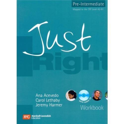 Just Right Pre-Intermediate Workbook + Cd