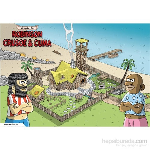Penguen Poster: Robinson Crusoe ve Cuma