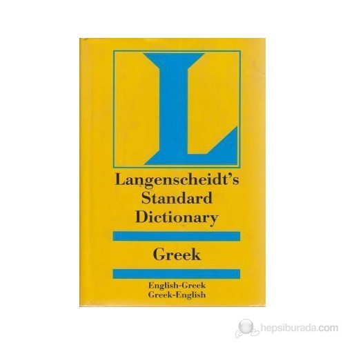 Langenscheidt's Standard Dictionary Greek