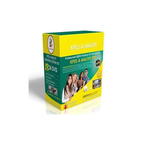 KPSS A Maliye Görüntülü Eğitim Seti 24 DVD + Rehberlik
