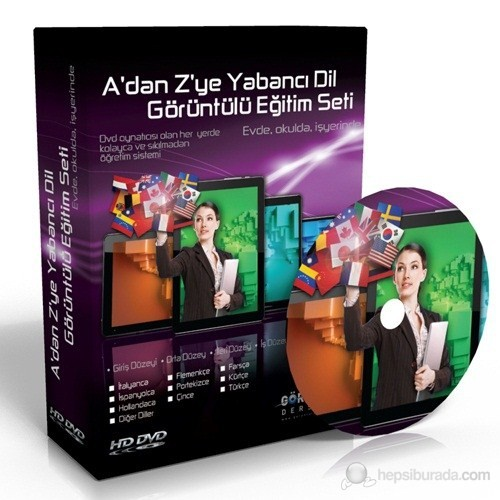 A'dan Z'ye İş Rusçası Görüntülü Eğitim Seti 6 DVD
