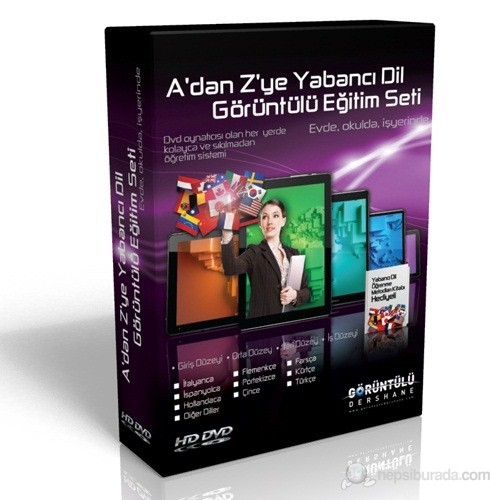 A'dan Z'ye İş İngilizcesi Görüntülü Eğitim Seti 7 DVD