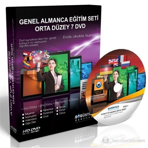 Genel Almanca Görüntülü Eğitim Seti Orta Düzey (B1 + B2) 7 DVD