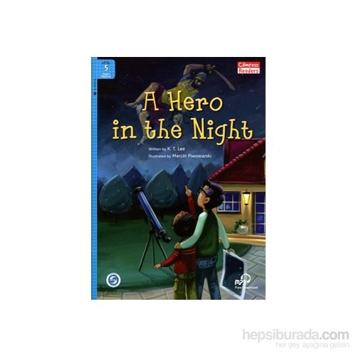 A Hero İn The Night +Downloadable Audio (Compass Readers 5) A2