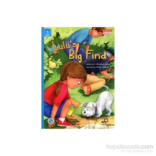 Lulu'S Big Find +Downloadable Audio (Compass Readers 5) A2