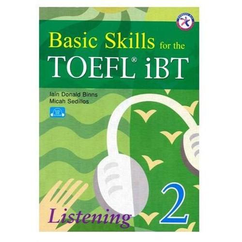 Basic Skills For The Toefl Ibt Listening 2 + 3CDS