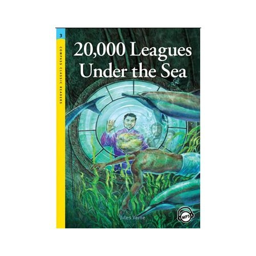 20,000 Leagues Under the Sea +MP3 CD (Level 3- Classic Readers)