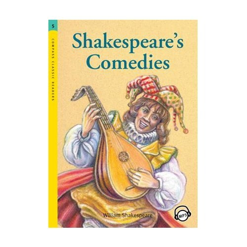 Shakespeare's Comedies +MP3 CD (Level 5 -Classic Readers)