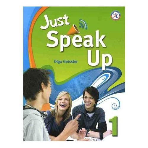 Just Speak Up 1+MP3 CD