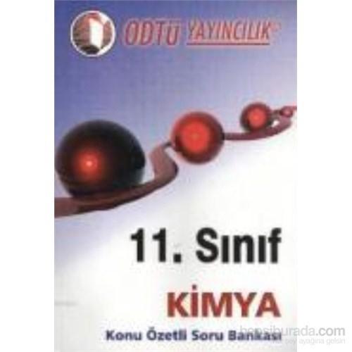 11. Sınıf Kimya Konu Özetli Soru Bankası