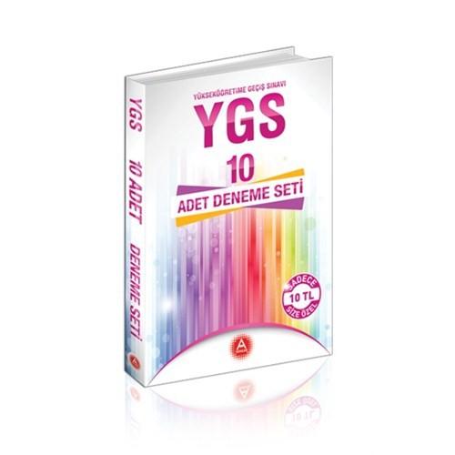 A Yayınları Ygs 10 Adet Deneme Seti