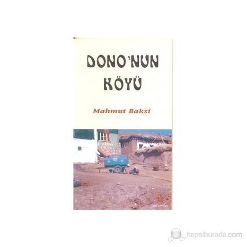 Dono'Nun Köyü-Mahmut Baksi