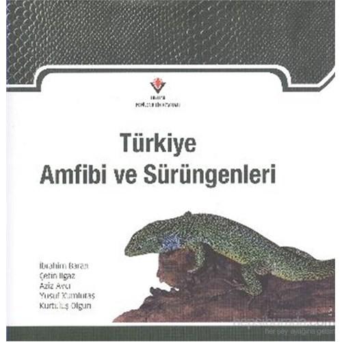 Türkiye Amfibi ve Sürüngenleri Ciltli