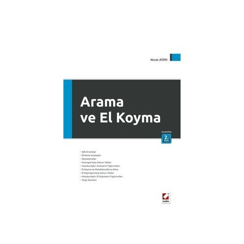 Arama Ve El Koyma