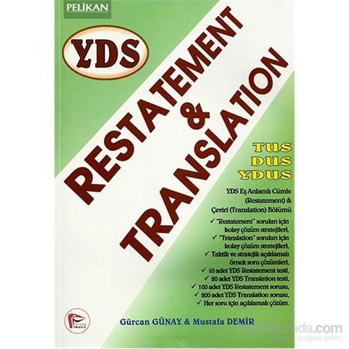 Pelikan YDS Restatement & Translation
