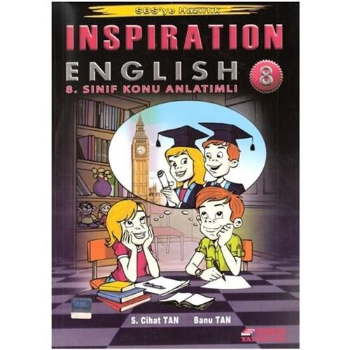 Esen 8.Sınıf Inspiration English Sbs'ye Hazırlık Okula Yardımcı Konu Anlatımlı