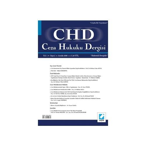 Ceza Hukuku Dergisi Yıl: 1 - Sayı: 2 - Aralık 2006