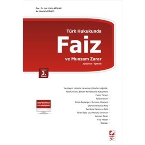 Türk Hukukunda - Faiz ve Munzam Zarar