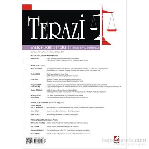 Terazi Aylık Hukuk Dergisi Sayı:94 Haziran 2014