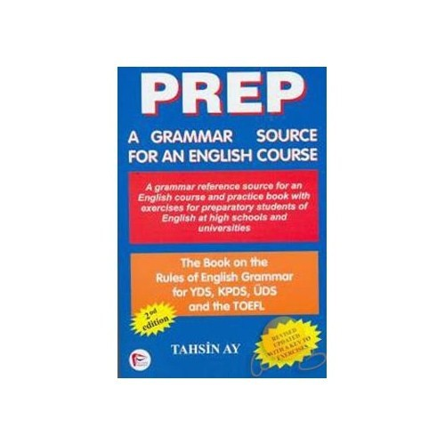 Prep A Grammar Source For An English Course