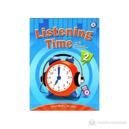 Listening Time 2 With Dictation + Mp3 Cd