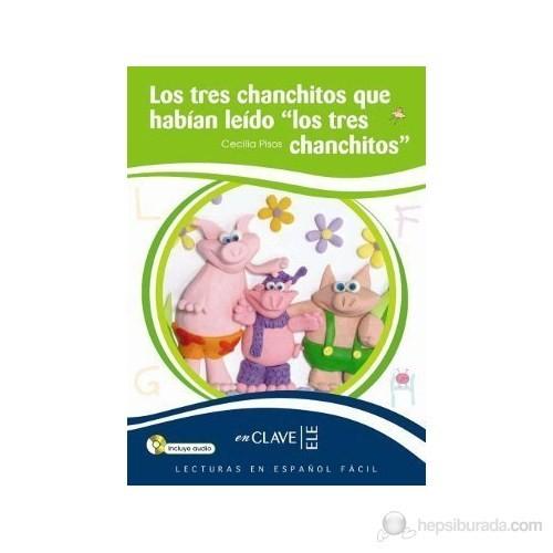 Los Tres Chanchitos… +Audio Descargable (Leef Nivel-1) 7-10 Yaş İspanyolca Okuma Kitabı-Cecilia Pisos