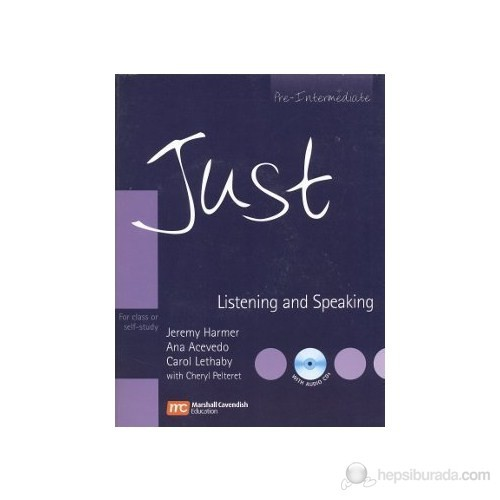 Just Listening And Speaking Pre-Intermediate With Audio Cd