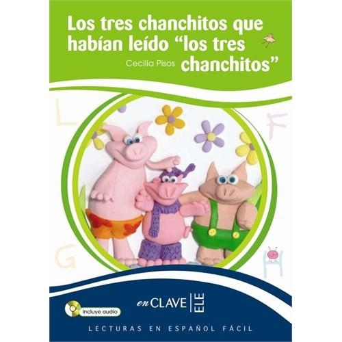Los tres chanchitos… +CD (LEEF Nivel-1) 7-10 yaş İspanyolca Okuma Kitabı