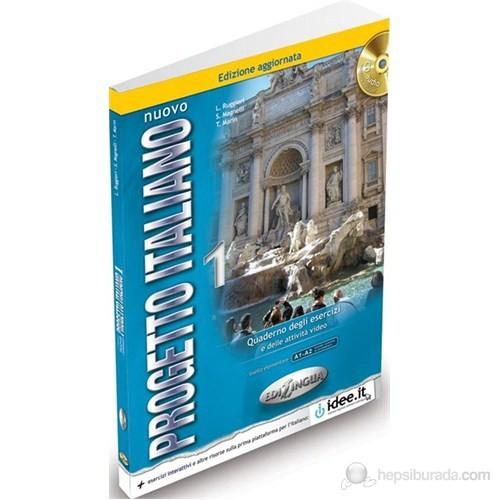 Nuovo Progetto Italiano 1 Quaderno degli esercizi +CD Edizione aggiornata (İtalyanca Temel ve Orta-a