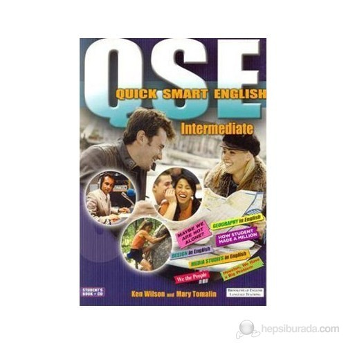 Quick Smart English Intermediate Student'S Book + Cd-Ken Wilson