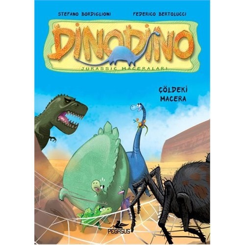 Dinodino-4 Çöldeki Macera
