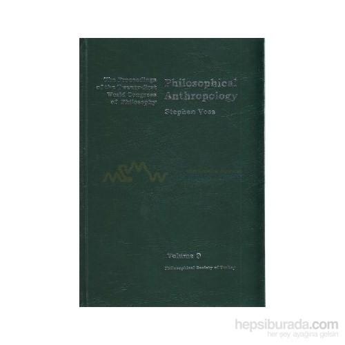 Philosophical Anthropology-Stephen Voss