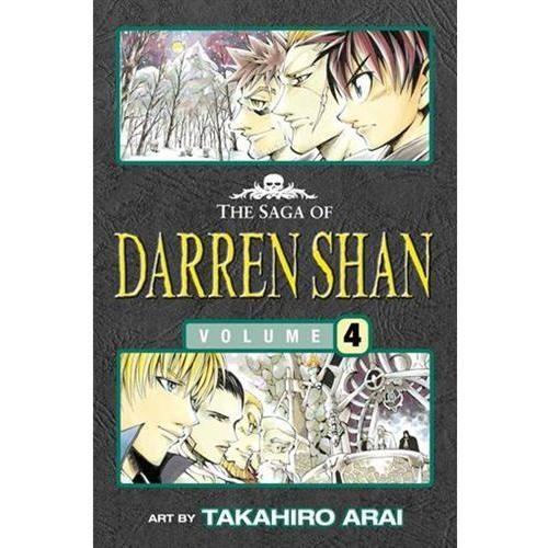 Vampire Mountain - The Saga of Darren Shan 4 [Manga edition]