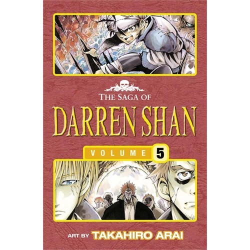 Trials of Death - The Saga of Darren Shan 5 [Manga edition] - Darren Shan