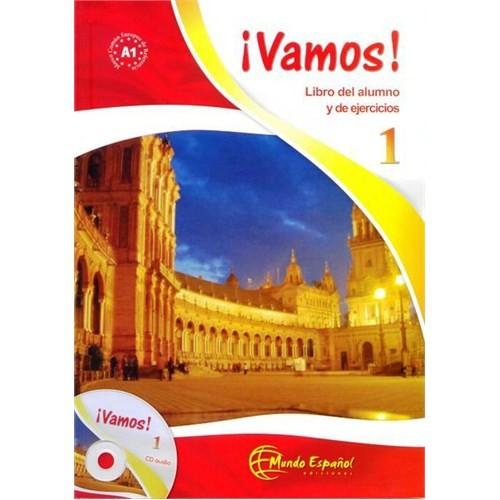 Vamos 1 (Ders Kitabı ve Çalışma Kitabı +CD) İspanyolca Başlangıç Seviyesi