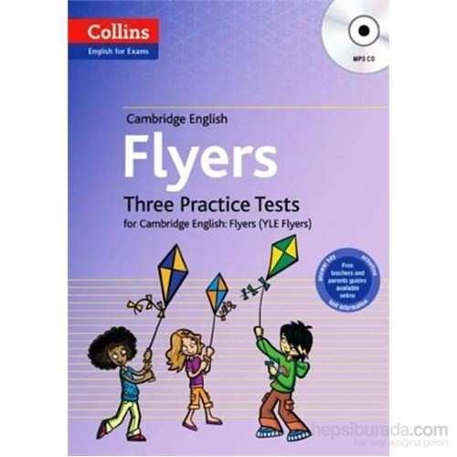 Cambridge English Flyers +MP3 CD - Three Practice Tests