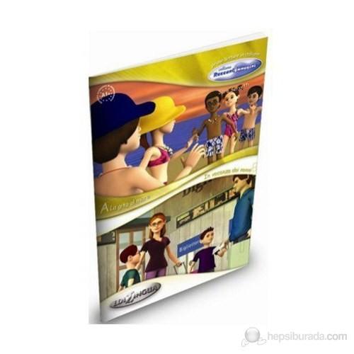 La Gita Al Mare - In Vacanza Dai Nonni (İtalyanca Okuma Kitabı 6-11 Yaş) Temel-Üst Seviye (A1+)