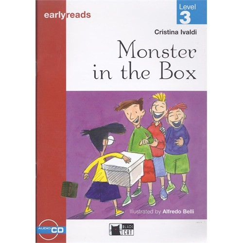 Monster İn The Box - Cristina Ivaldi / Earlyreads Level 3 + Cd / Black Cat