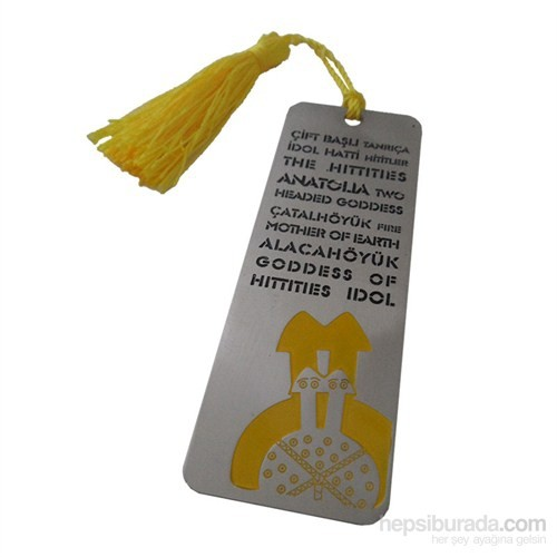Biggdesign Çiftbaşlı Kitap Ayracı Sarı