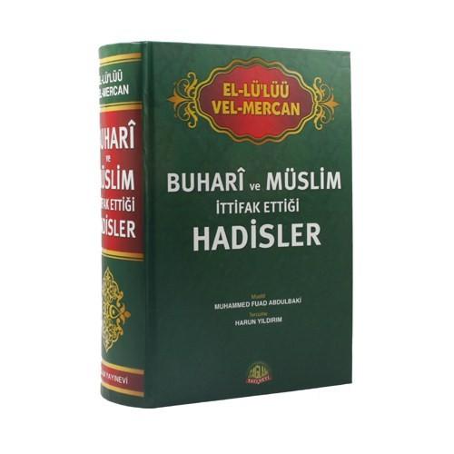 El-Lü'lüü Vel Mercan Buhari Ve Müslim İttifak Ettiği Hadisler (İthal Kağıt)