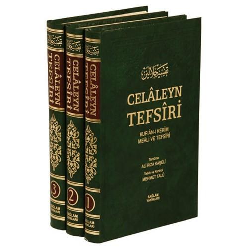 Celaleyn Tefsiri Tercümesi Kuran-I Kerim Meali Ve Tefsiri (3 Cilt, Takım)