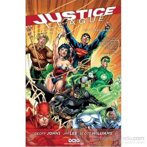 Justice League: Cilt1 - Başlangıç - Geoff Johns