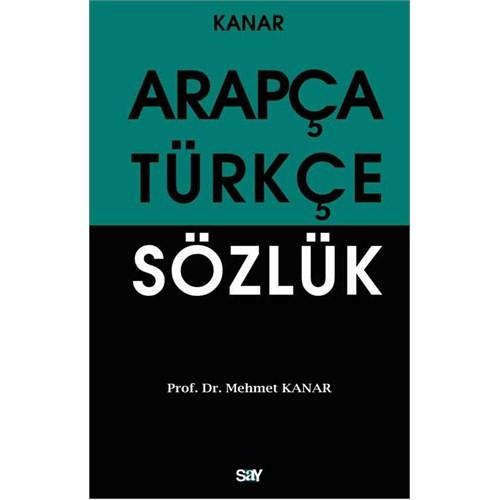 Arapça Türkçe Sözlük (Orta Boy)-Mehmet Kanar
