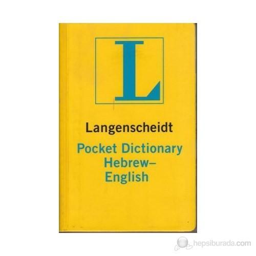 Langenscheidt Pocket Dictionary Hebrew - English