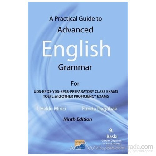A Practical Guide To Advanced English Grammer - Funda Dağabak