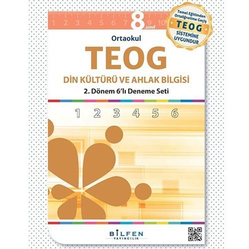 Biltest Yayınları 8.Sınıf Din Kültürü 2.Dönem Teog 6'Lı Deneme Seti