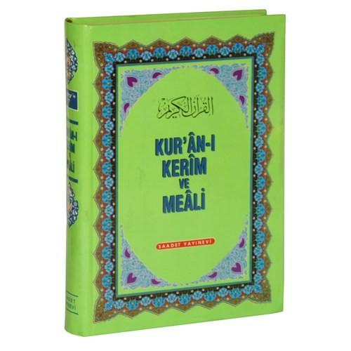 Kur'an-I Kerim Ve Meali (Türkçe Okunuşlu Üçlü Meal)